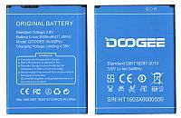 Батарея (аккумулятор) Doogee X6 , X6Pro  (3.8V 3000mAh) S/N:HT1603X6000550
