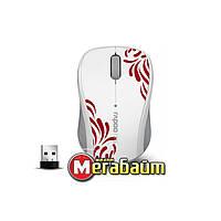 Мышь беспроводная RAPOO 3100p белая USB