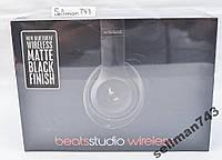 Наушники Beats Studio Wireless new Black из США
