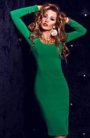 Сукня жіноча красиве нарядне довгий рукав футляр