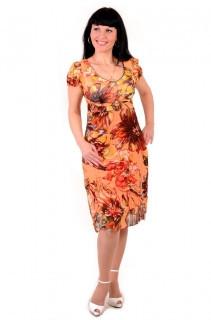 Платье женское «Цветы» XL / 50