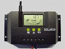 Интеллектуальный контроллер заряда-разряда 30А 12/24(авторежим)