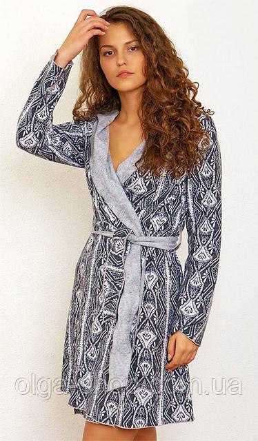 Халат Shato - 330 (женская одежда для сна, дома и отдыха, домашняя одежда)