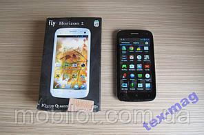 Мобильный телефон Fly IQ450 Quattro Horizon 2 Black (TZ-1060)