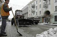 Уборка вывоз снега,расчистка уборка льда Киев