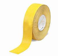 Противоскользящая лента 3M Safety-Walk  630 универсальная, средняя зернистость, желтая, 25 мм.