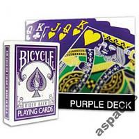 Карты игральные Bicycle Purple +Gaff