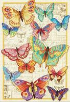 """Набор для вышивания крестом """"Красота бабочек//Butterfly Beauty"""" DIMENSIONS"""