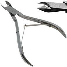 Luxury Кусачки KM-01 профессиональные маникюрные сталь для кутикулы 6мм, фото 2