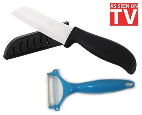 Набір керамічних ножів The Worlds Best Ceramic Knife