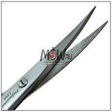 Luxury Ножницы HM-12 маникюрные для кутикулы тертые изогнутые 19мм, фото 3