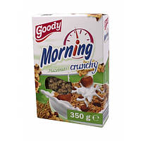 Кранчи, мюсли Goody Morning Hazelnuts 350 г
