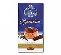 Шоколад Вдохновение Вкус Ореховый Мусс кондитерской фабрики Бабаевский 100 грамм