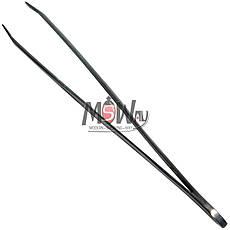 Luxury Пинцет BP-01 Beauty Line косметич. для бровей (прямой) узкий сталь, фото 2