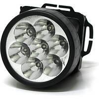 Налобный фонарик на лоб 1396-7 , фото 1