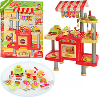 Кухня детская Игровой набор «Ресторан Фаст Фуд» 008-33