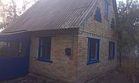 Продам дачный участок с кирпичным домом киевское море