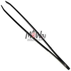 Luxury Пинцет BP-09 Beauty Line косметич. для бровей (прямой) черный, фото 2