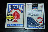 Карты  игральные Bicycle Standard Blue (США)