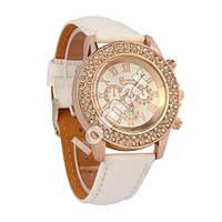 Шикарные женские часы Geneva Cristal со стразами