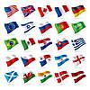 Государственные флаги стран мира (односторонние)