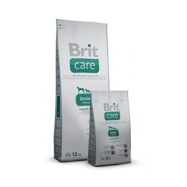 Brit Care Senior Lamb & Rice 12 kg для пожилых всех пород