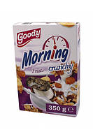 Кранчи, мюсли Goody Morning Fruits 350 г