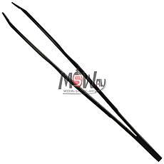 Luxury Пинцет P-14 для бровей профессиональный (прямой) черный, фото 2