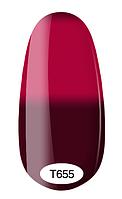 Термо гель-лак Kodi Professional №655 (темный сливовый, при нагревании – насыщенный розовый), 8мл