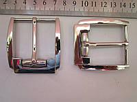 Пряжка для ремня 40 мм никель