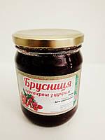 Брусниця з цукром (0,5л) ОРА АГРО-ЕКО, фото 1