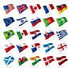Государственные флаги стран (двухсторонние)