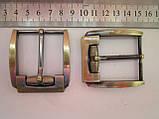 Пряжка для ремня 40 мм тёртый антик, фото 2