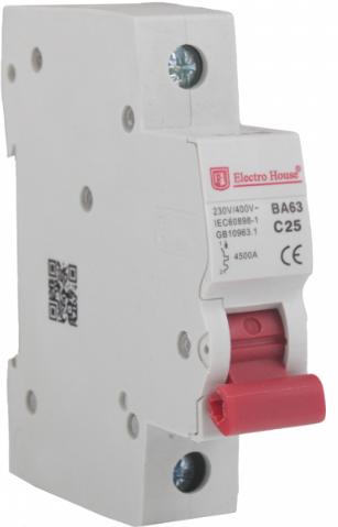 Автоматический выключатель Electro House EH-1.6