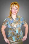 Блуза женская шифоновая БЛ 009, фото 3