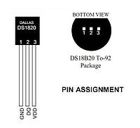 DS18B20 Цифровой Датчик Температуры, Arduino