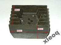 Радиатор алюминиевый 95Х74Х60