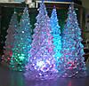 """Светодиодный светильник """"новогодняя елка"""" 18см. Видео."""