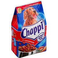 Chappi (Чаппи) сухой корм для взрослых собак Сытный мясной обед с говядиной 13,5 кг