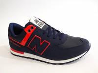 Удобные синие кроссовки на шнурках К-0003 распродажа мужской обуви