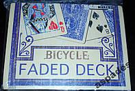 Карты игральные Bicycle Blue Faded  +Gaff