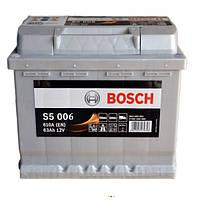 Автомобильный аккумулятор Bosch 6CT-63 S5 Silver Plus (S5006)