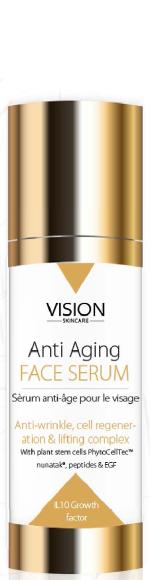 Skincare сироватка Vision з фактором зростання IL10
