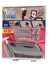 Автоматичний гвоздезабівателі будівельний домашній степлер Insta Hang (Інста Хенг), фото 3