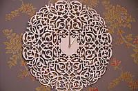 Часы настенные интерьерные ажурные
