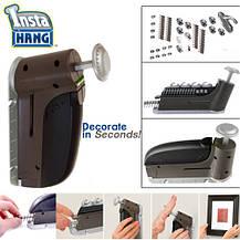 Автоматичний гвоздезабівателі будівельний домашній степлер Insta Hang (Інста Хенг), фото 2