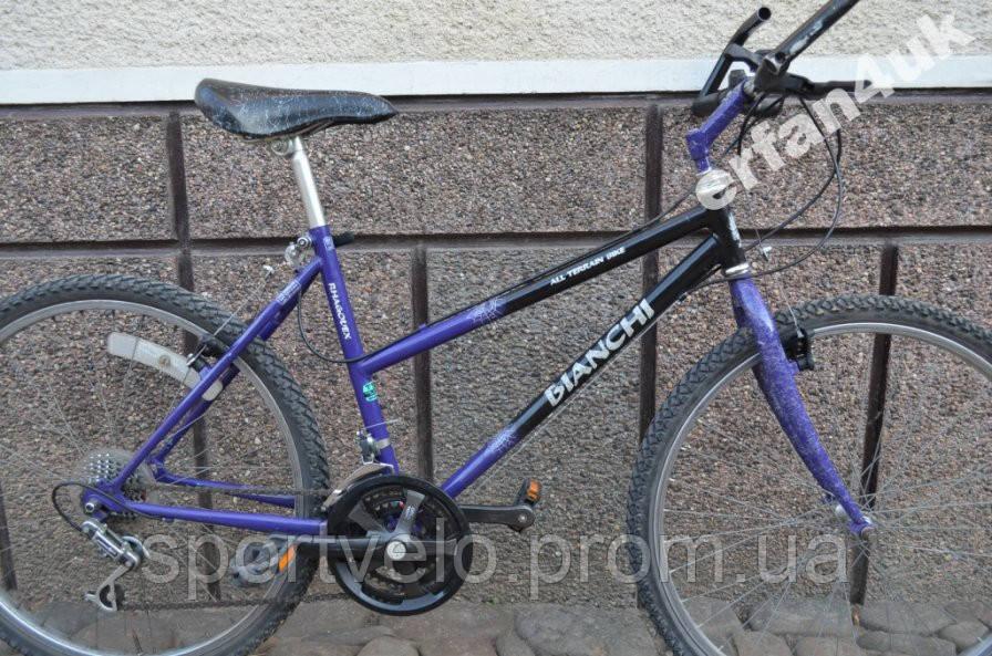 """Жіночий велосипед MTB BIANCHI Rhagodex Ragno 26"""" з Німеччини"""