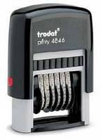 Нумератор 6-разрядный 4846 Trodat 4мм.
