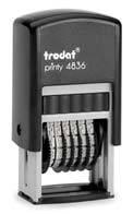 Нумератор 6-разрядный 4836 Trodat 4 мм.