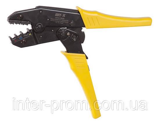 Пресс-клещи  ПК-6и  для опрессовки медных и алюминиевых кабельных наконечников, фото 2